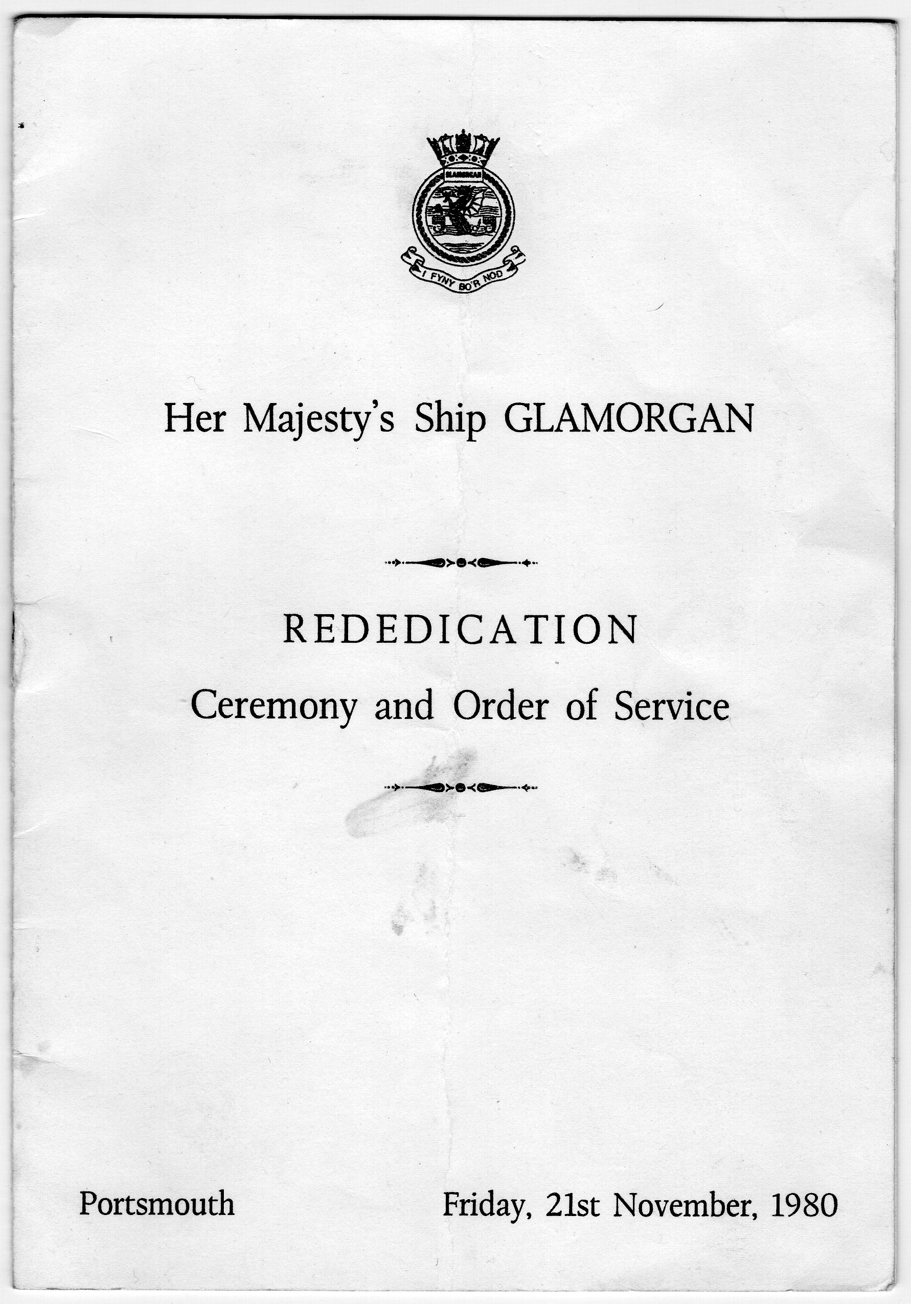 Rededication Cover
