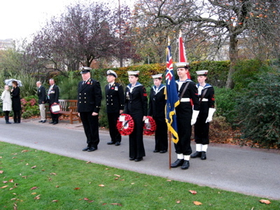 Remembrance Sunday Wreath Party 1