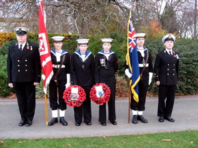 Remembrance Sunday Wreath Party 2