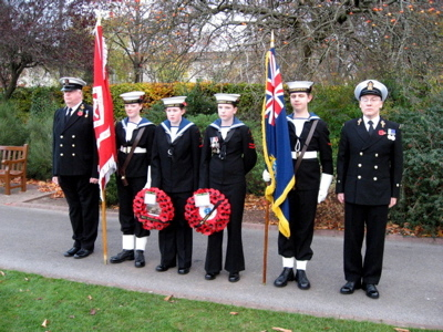 Remembrance Sunday Wreath Party 3
